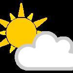 天気(晴れと曇り)