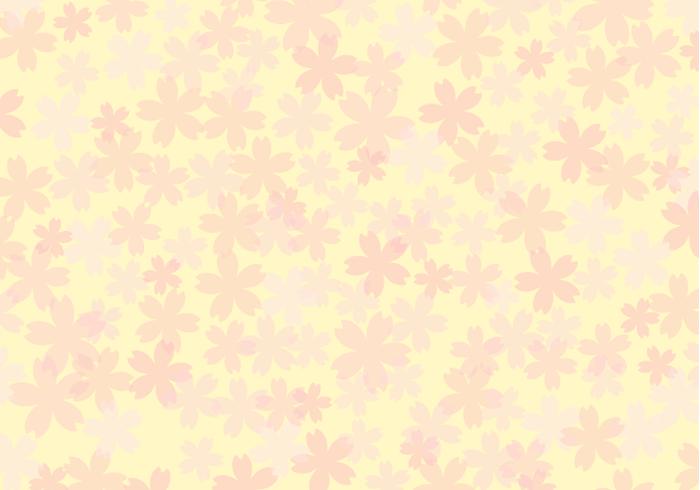 花柄(桜柄)