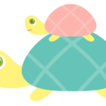 カメ(親子亀)