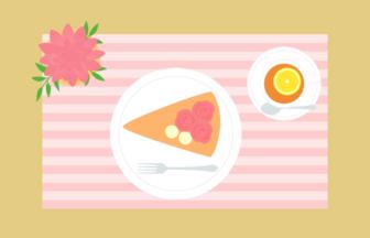 食卓(ケーキセット)