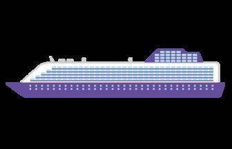 豪華客船(クルーズ船)