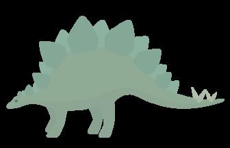 恐竜(ステゴサウルス)